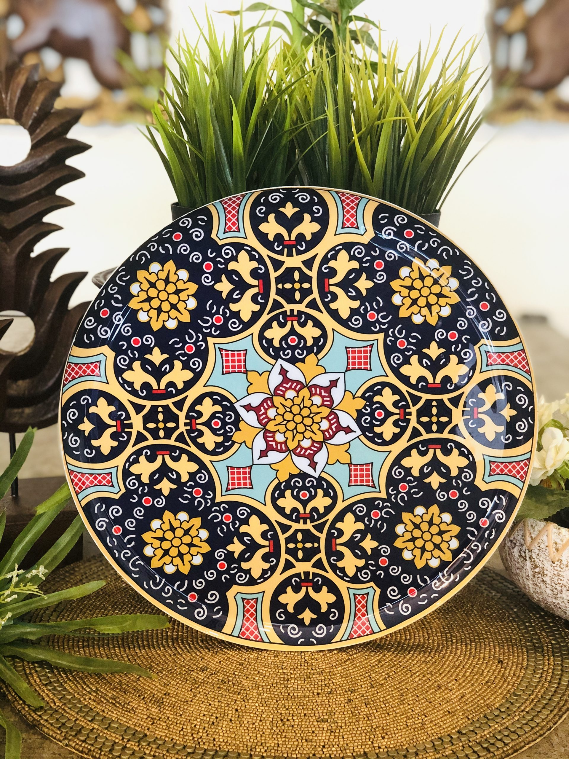 Turkish Metal Wall Plates Design 3 Welcome To Justfab